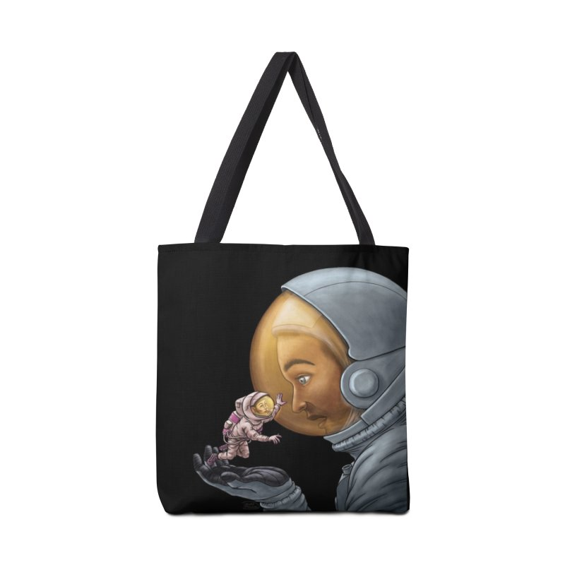 Out in the space Accessories Tote Bag Bag by davidmacedoart's Artist Shop