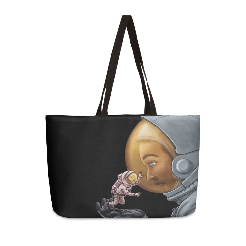 Out in the space Accessories Weekender Bag Bag by davidmacedoart's Artist Shop