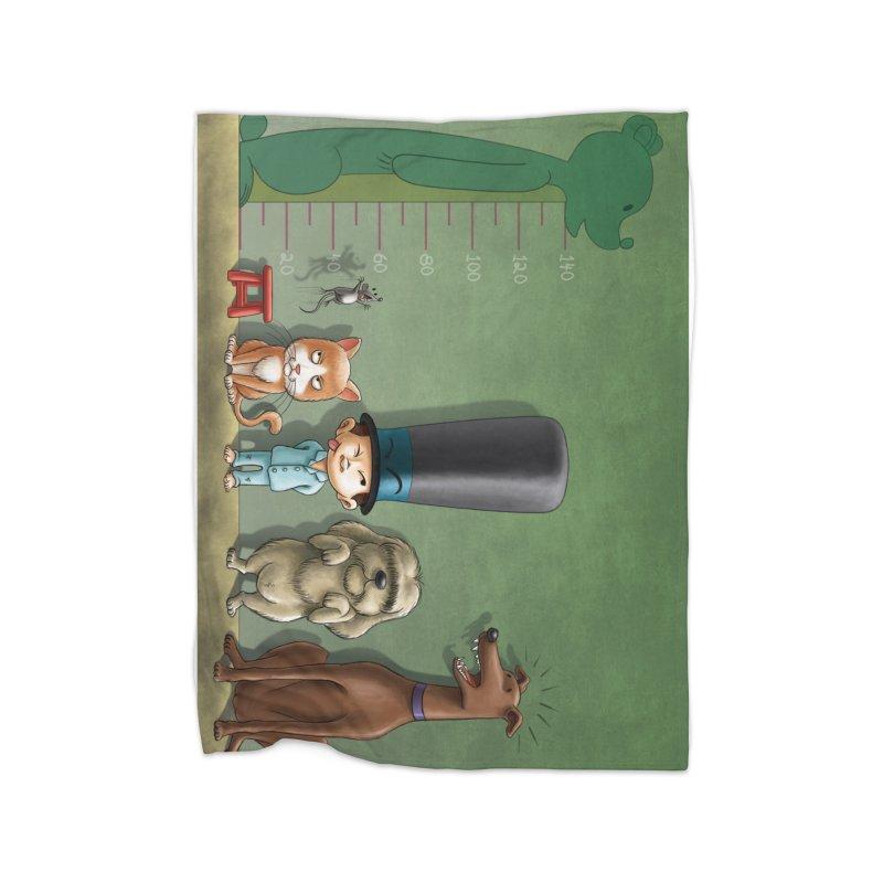 Naughty Child Home Blanket by davidmacedoart's Artist Shop