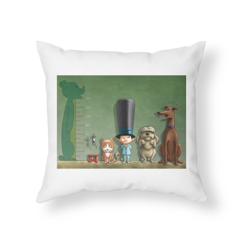 Naughty Child Home Throw Pillow by davidmacedoart's Artist Shop
