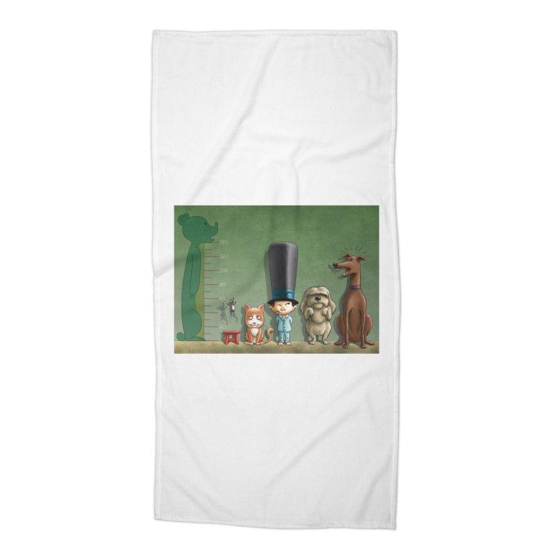 Naughty Child Accessories Beach Towel by davidmacedoart's Artist Shop