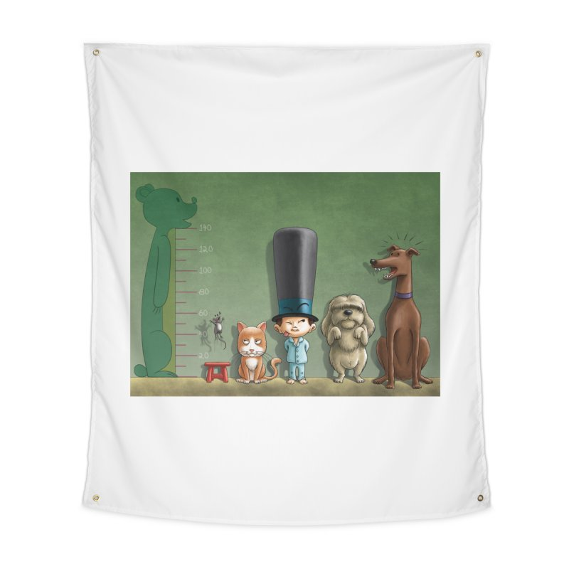 Naughty Child Home Tapestry by davidmacedoart's Artist Shop