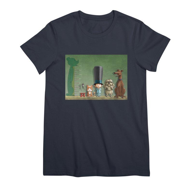 Naughty Child Women's Premium T-Shirt by davidmacedoart's Artist Shop