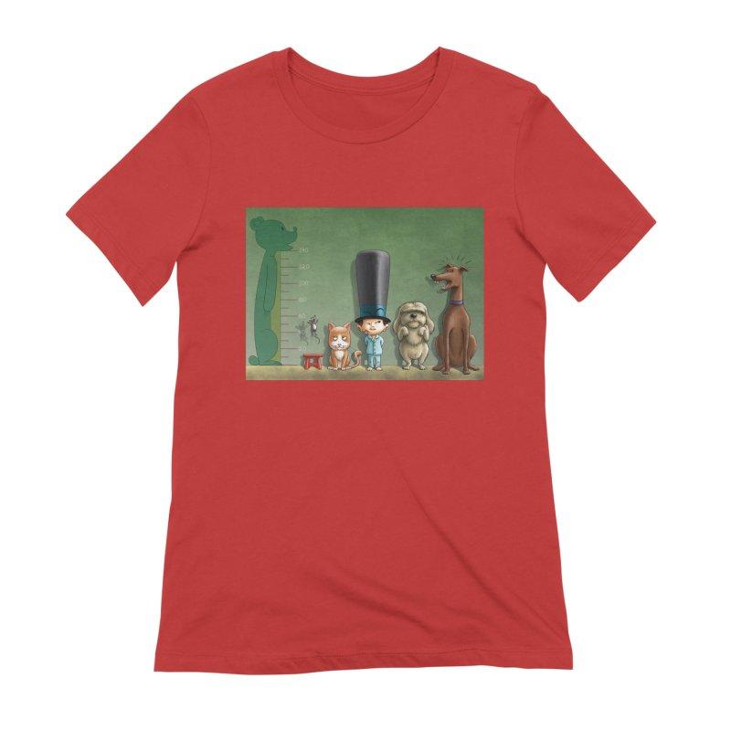 Naughty Child Women's Extra Soft T-Shirt by davidmacedoart's Artist Shop