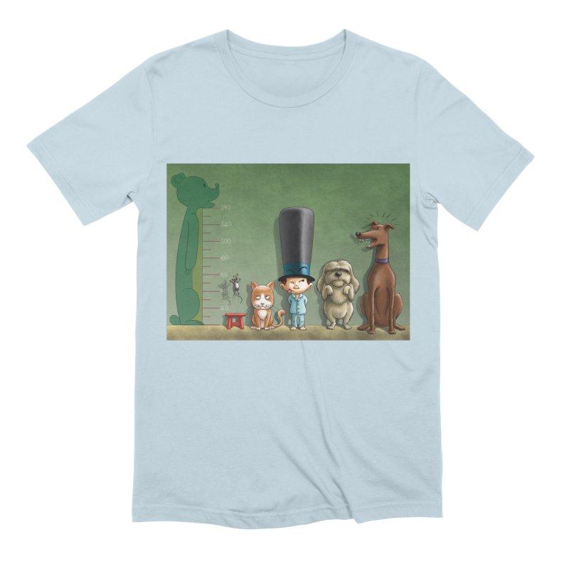 Naughty Child Men's Extra Soft T-Shirt by davidmacedoart's Artist Shop