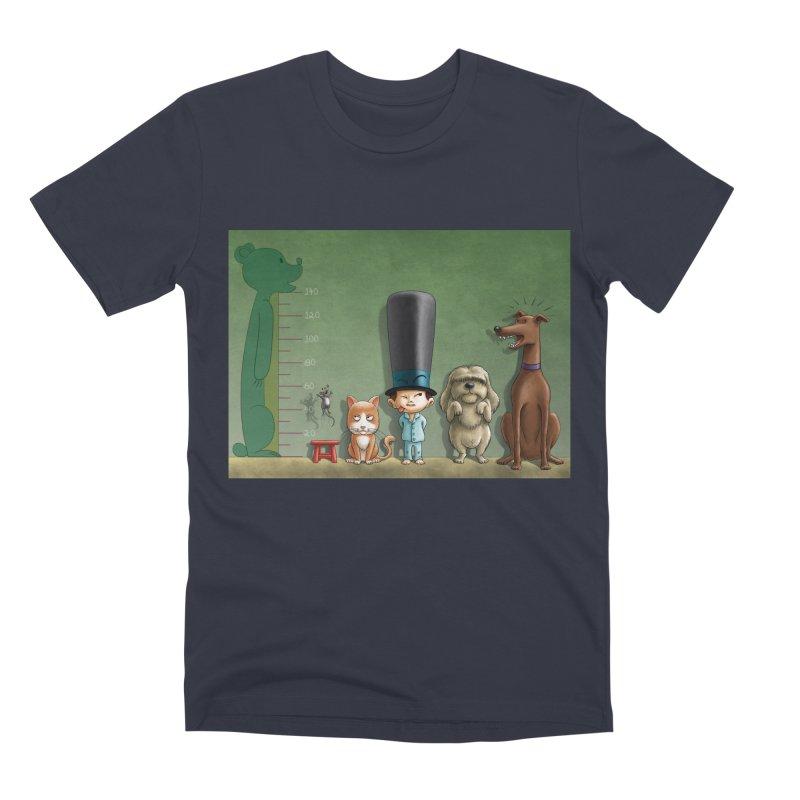 Naughty Child Men's Premium T-Shirt by davidmacedoart's Artist Shop