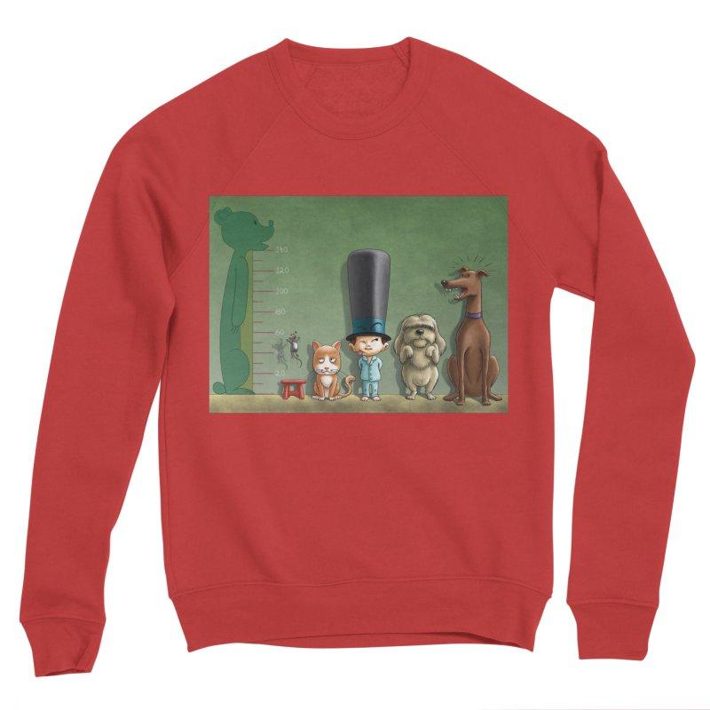 Naughty Child Men's Sponge Fleece Sweatshirt by davidmacedoart's Artist Shop