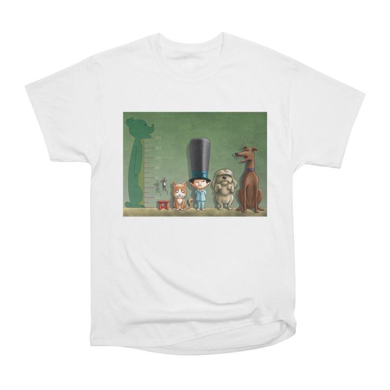 Naughty Child Men's Heavyweight T-Shirt by davidmacedoart's Artist Shop