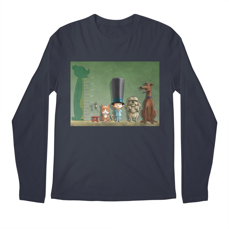 Naughty Child Men's Longsleeve T-Shirt by davidmacedoart's Artist Shop