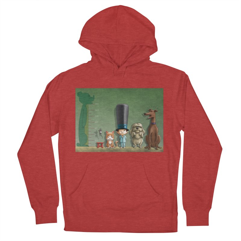 Naughty Child Men's French Terry Pullover Hoody by davidmacedoart's Artist Shop