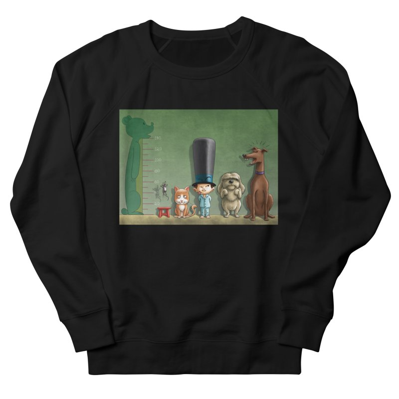 Naughty Child Women's French Terry Sweatshirt by davidmacedoart's Artist Shop
