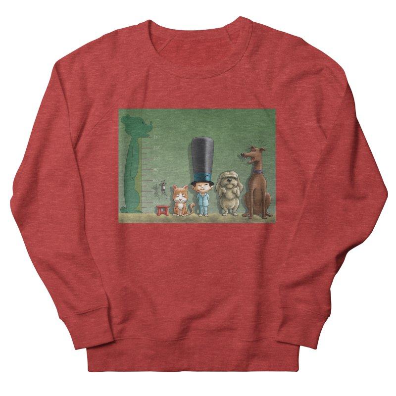 Naughty Child Men's French Terry Sweatshirt by davidmacedoart's Artist Shop