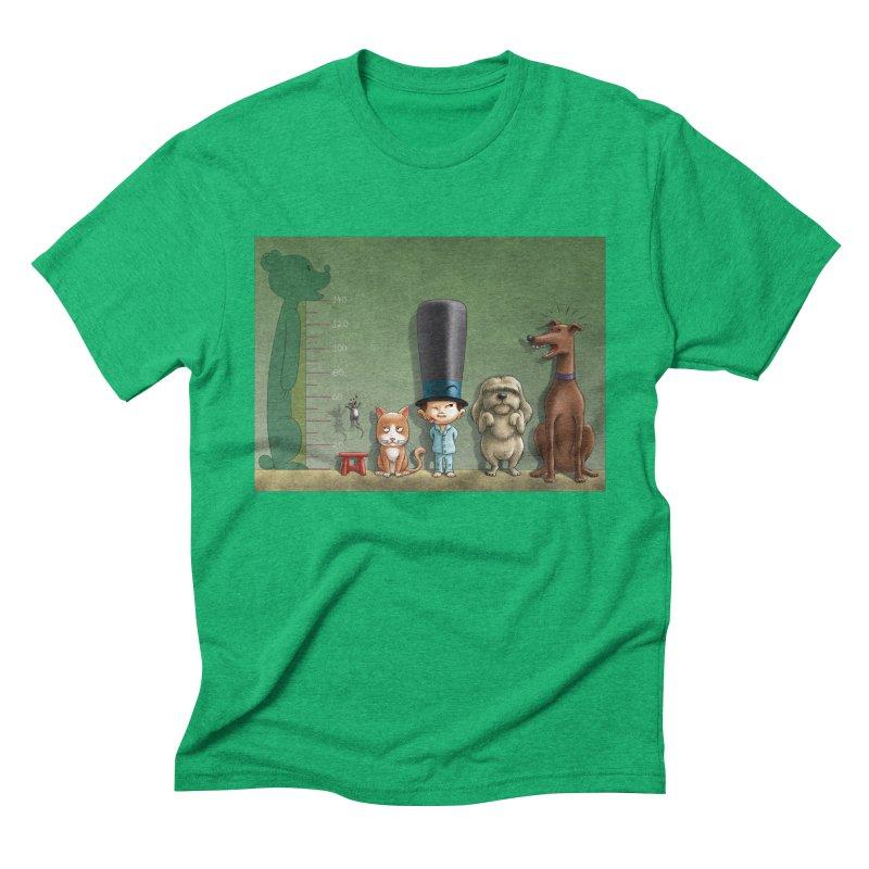 Naughty Child Men's Triblend T-Shirt by davidmacedoart's Artist Shop