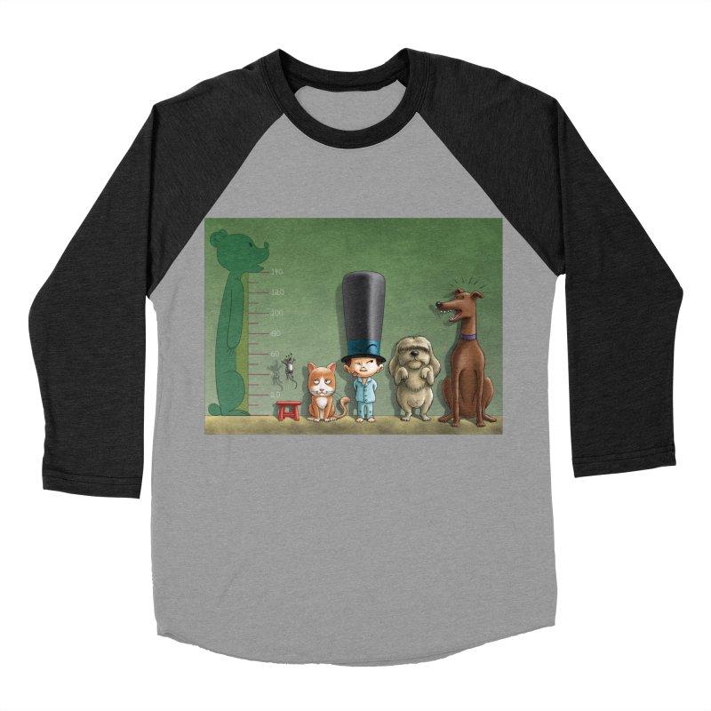 Naughty Child Women's Baseball Triblend Longsleeve T-Shirt by davidmacedoart's Artist Shop