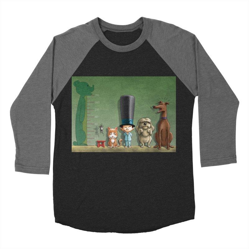 Naughty Child Men's Baseball Triblend Longsleeve T-Shirt by davidmacedoart's Artist Shop