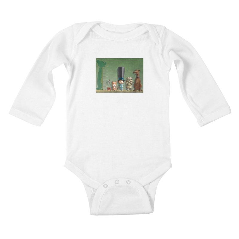 Naughty Child Kids Baby Longsleeve Bodysuit by davidmacedoart's Artist Shop