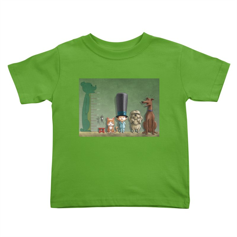 Naughty Child Kids Toddler T-Shirt by davidmacedoart's Artist Shop