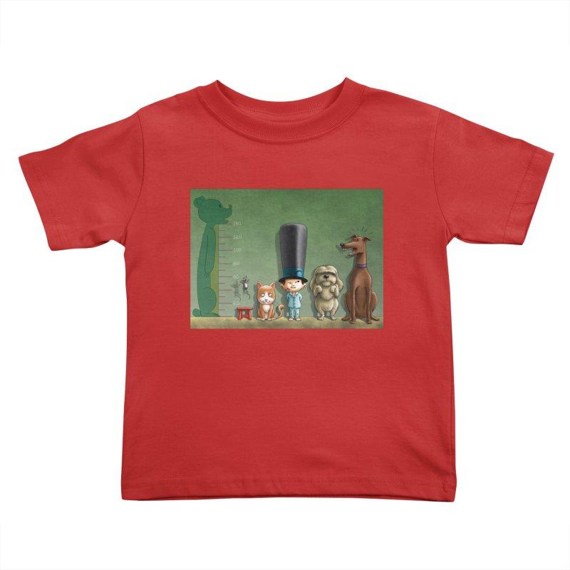 Naughty Child Kids Toddler T-Shirt by davidmacedoart's Artist Shop