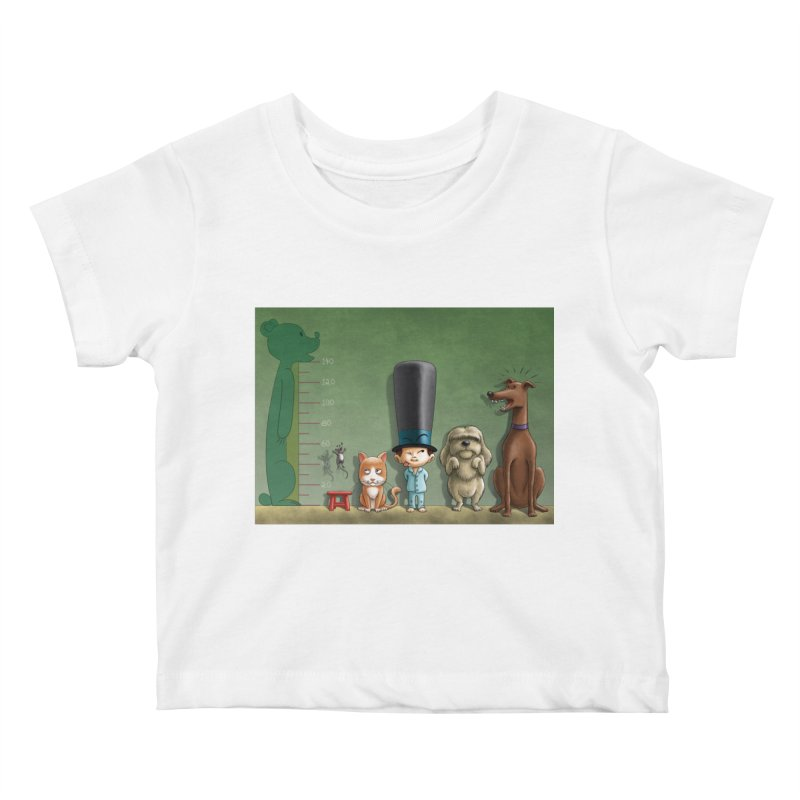 Naughty Child Kids Baby T-Shirt by davidmacedoart's Artist Shop