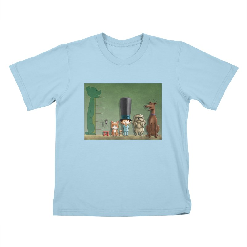 Naughty Child Kids T-Shirt by davidmacedoart's Artist Shop