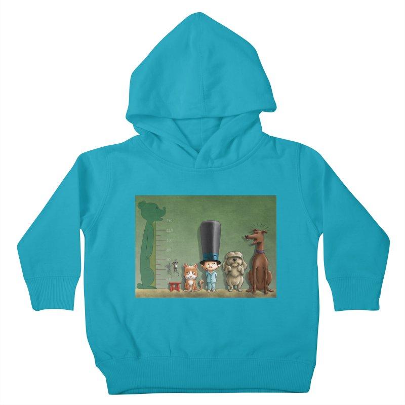 Naughty Child Kids Toddler Pullover Hoody by davidmacedoart's Artist Shop