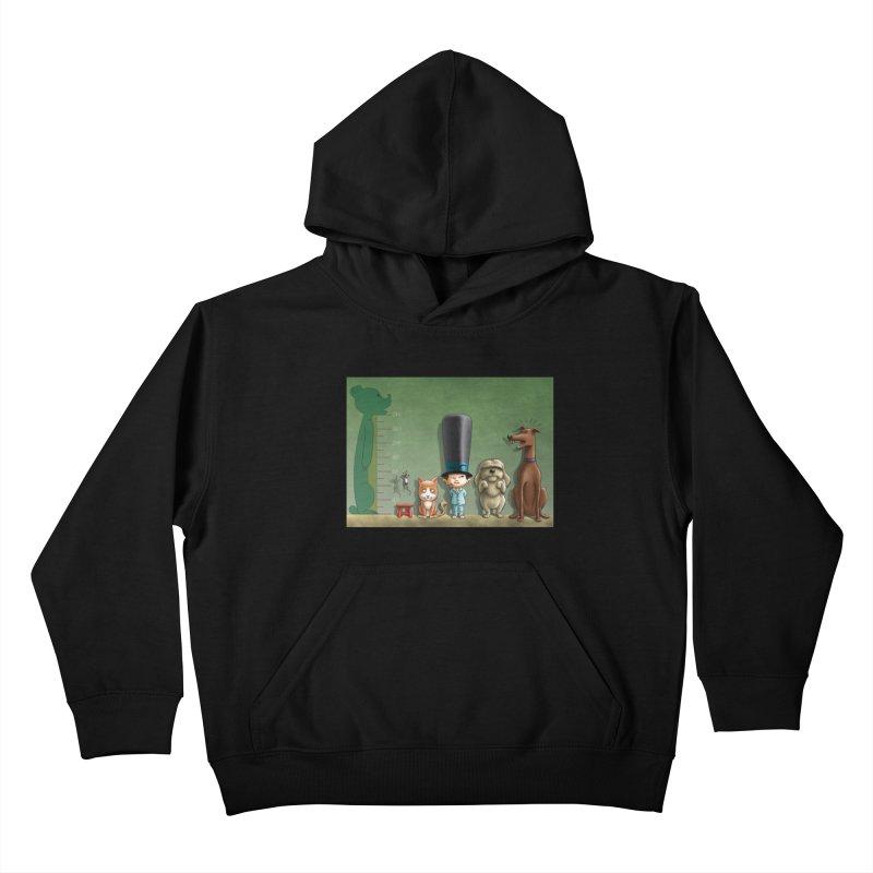 Naughty Child Kids Pullover Hoody by davidmacedoart's Artist Shop