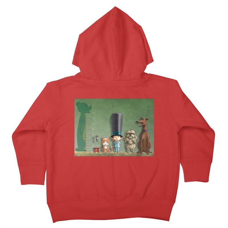 Naughty Child Kids Toddler Zip-Up Hoody by davidmacedoart's Artist Shop