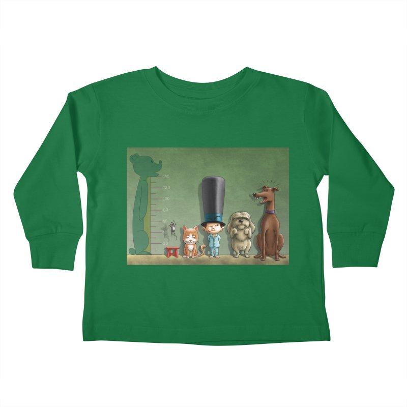 Naughty Child Kids Toddler Longsleeve T-Shirt by davidmacedoart's Artist Shop