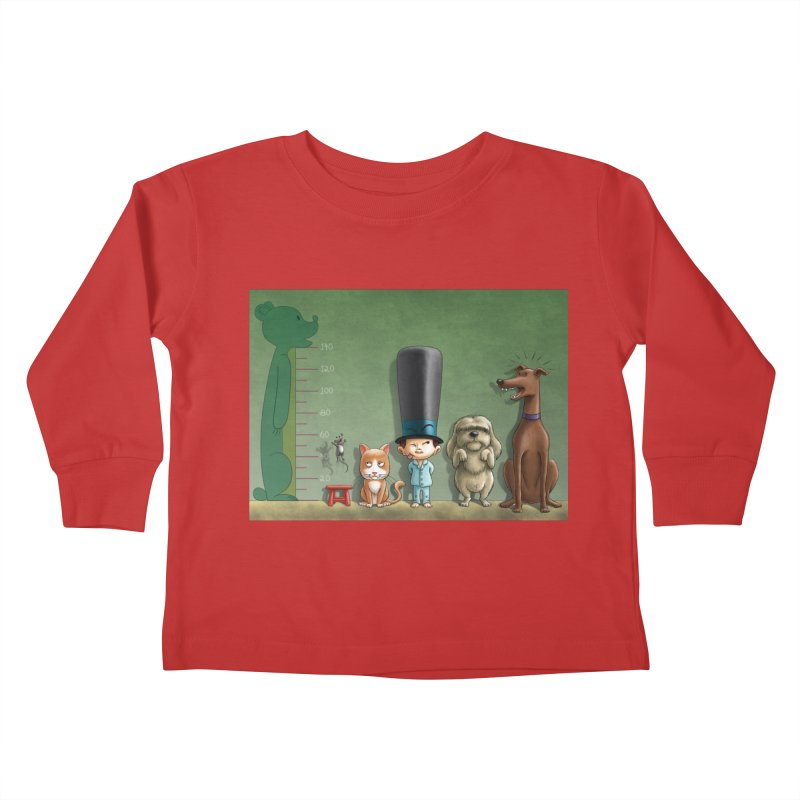 Naughty Child Kids Toddler Longsleeve T-Shirt by davidmacedoart's Artist Shop