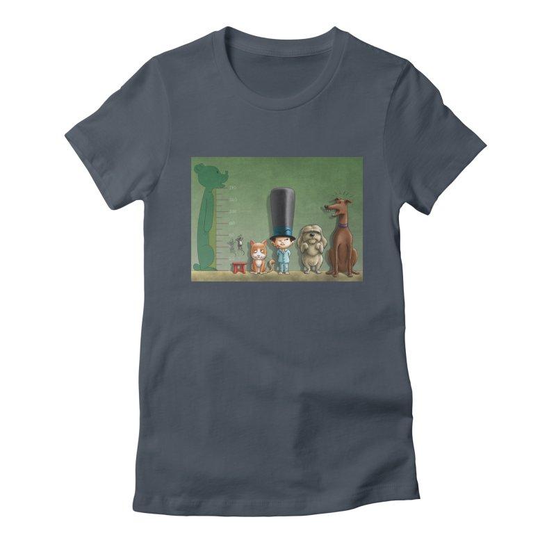 Naughty Child Women's Fitted T-Shirt by davidmacedoart's Artist Shop