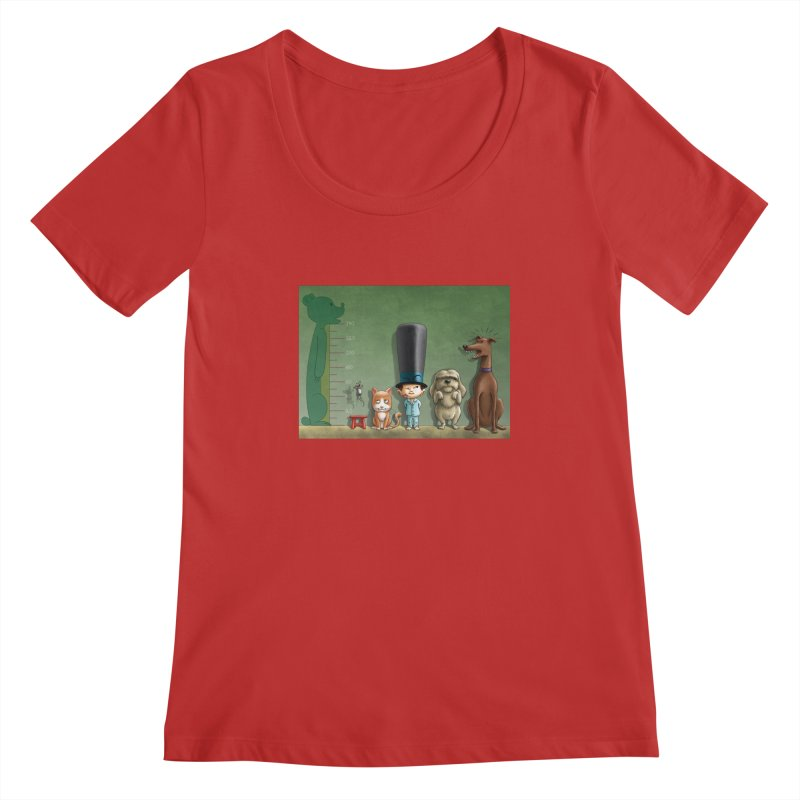 Naughty Child Women's Regular Scoop Neck by davidmacedoart's Artist Shop