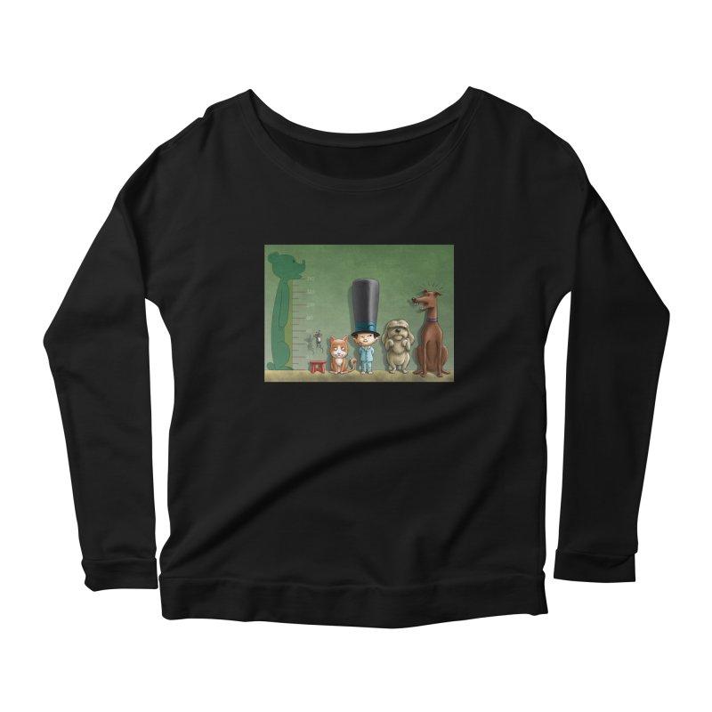 Naughty Child Women's Scoop Neck Longsleeve T-Shirt by davidmacedoart's Artist Shop