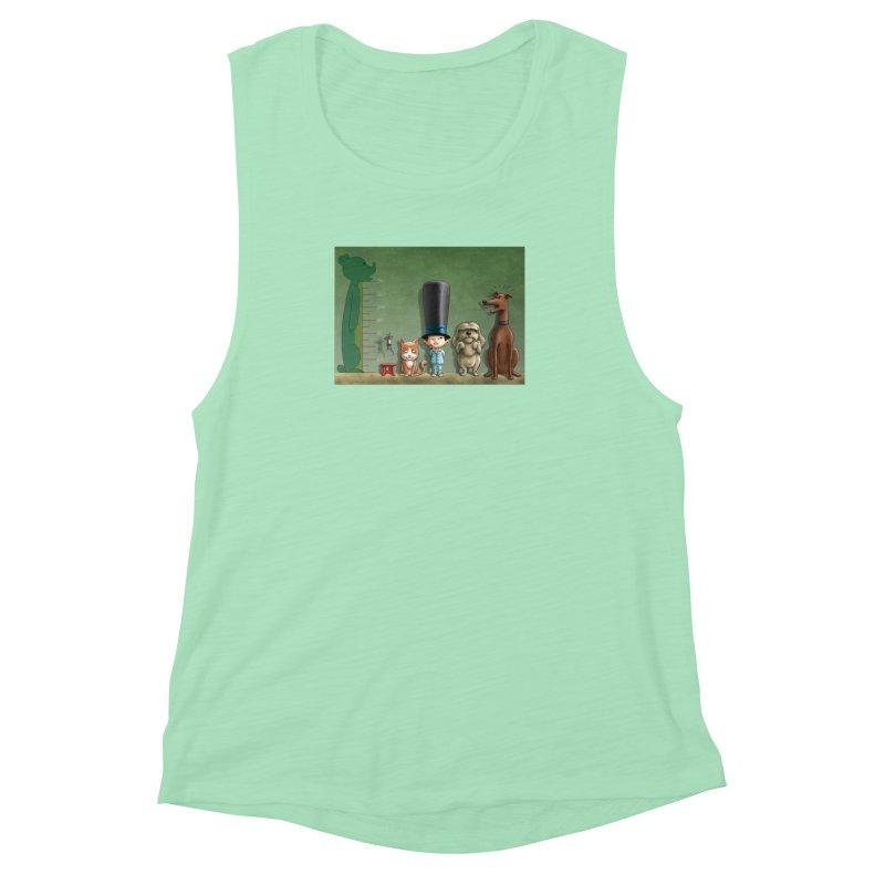 Naughty Child Women's Muscle Tank by davidmacedoart's Artist Shop