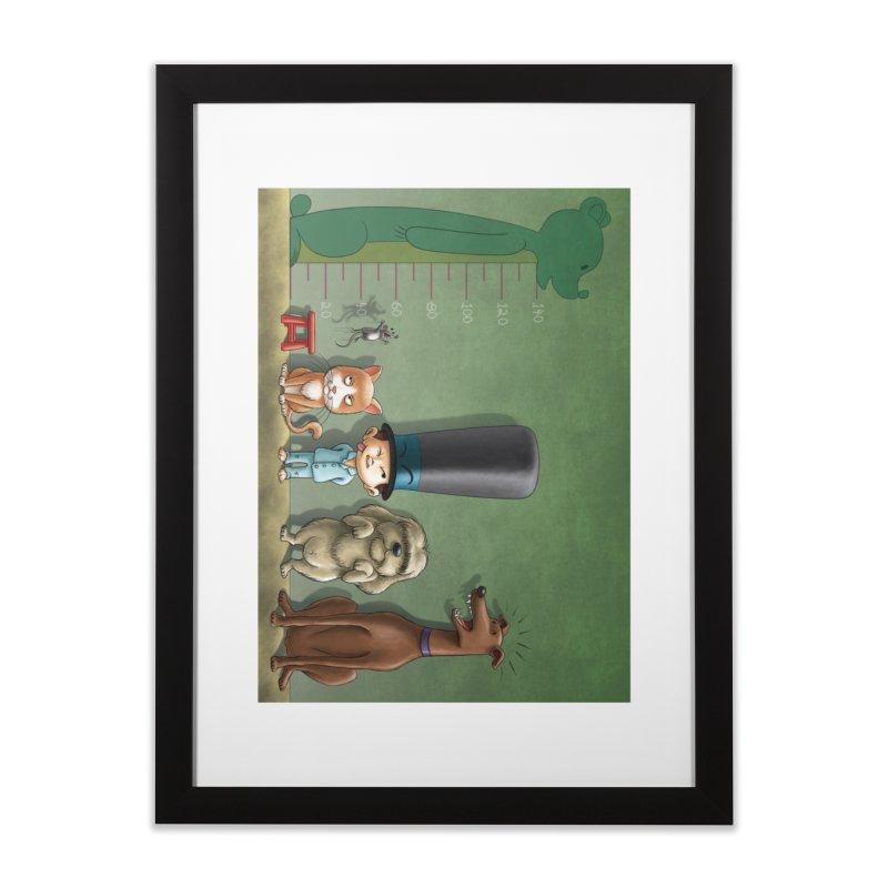 Naughty Child Home Framed Fine Art Print by davidmacedoart's Artist Shop