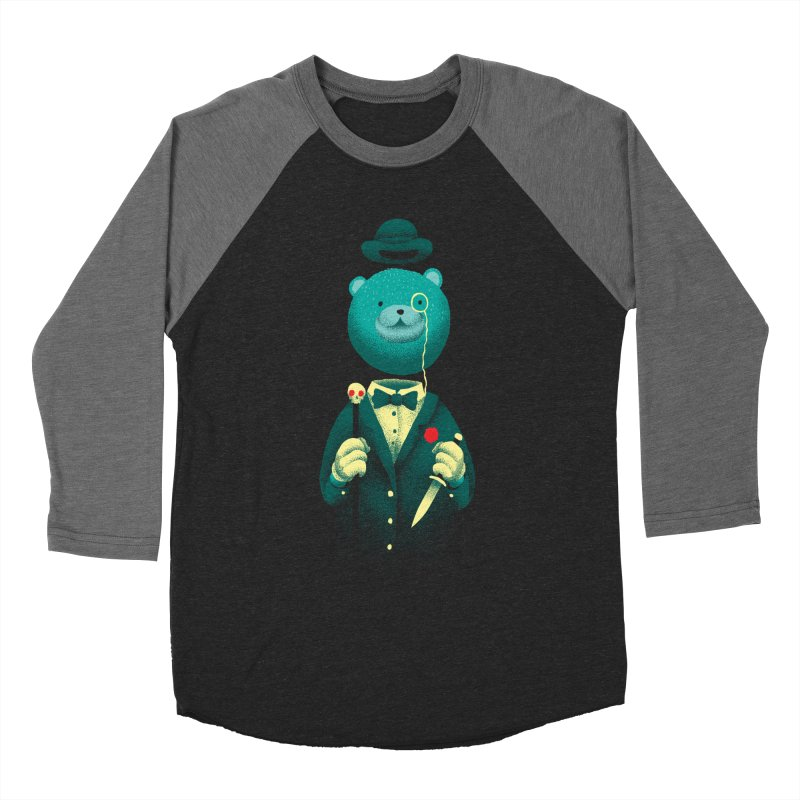 Bad Mr Bear Men's Longsleeve T-Shirt by David Maclennan
