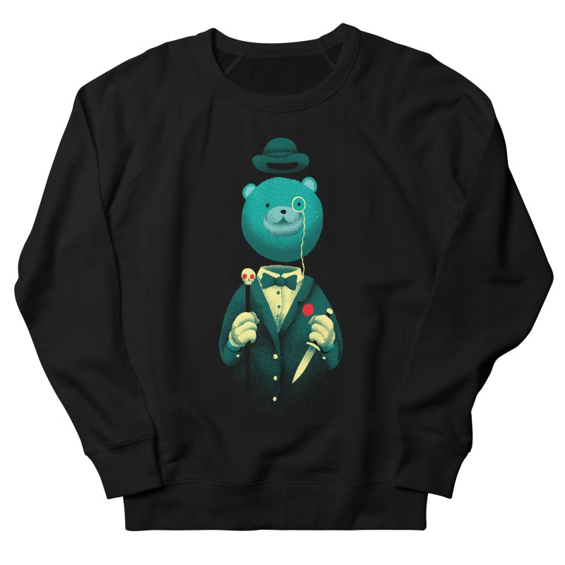 Bad Mr Bear Men's French Terry Sweatshirt by David Maclennan