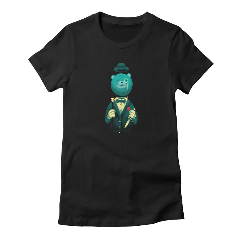 Bad Mr Bear Women's T-Shirt by David Maclennan