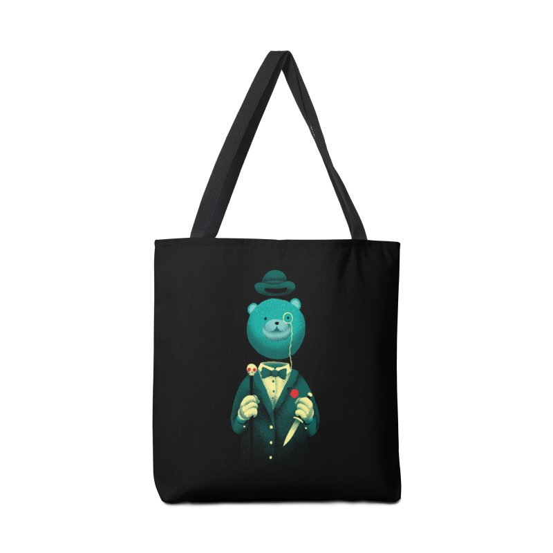 Bad Mr Bear Accessories Tote Bag Bag by David Maclennan