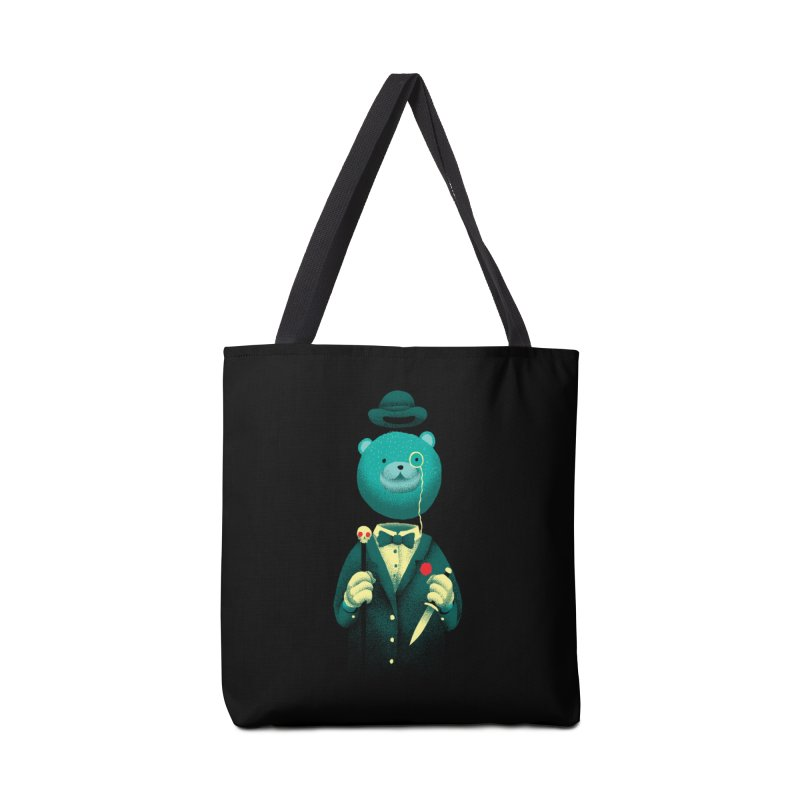Bad Mr Bear Accessories Bag by David Maclennan