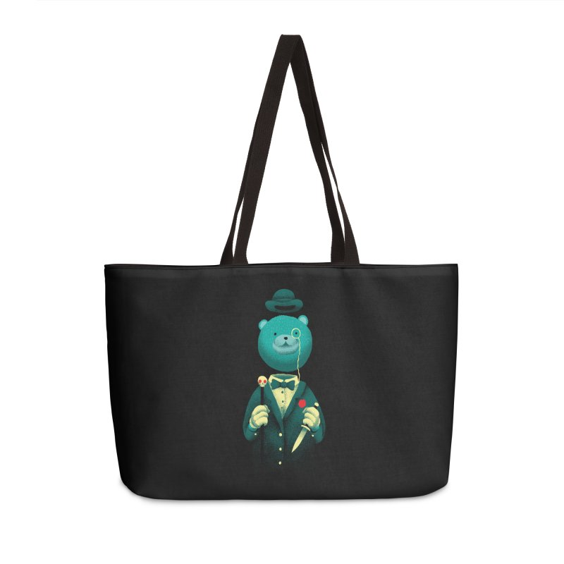 Bad Mr Bear Accessories Weekender Bag Bag by David Maclennan