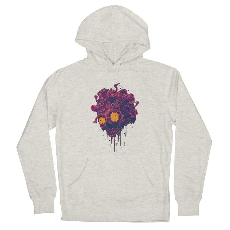 The freakout Men's French Terry Pullover Hoody by David Maclennan