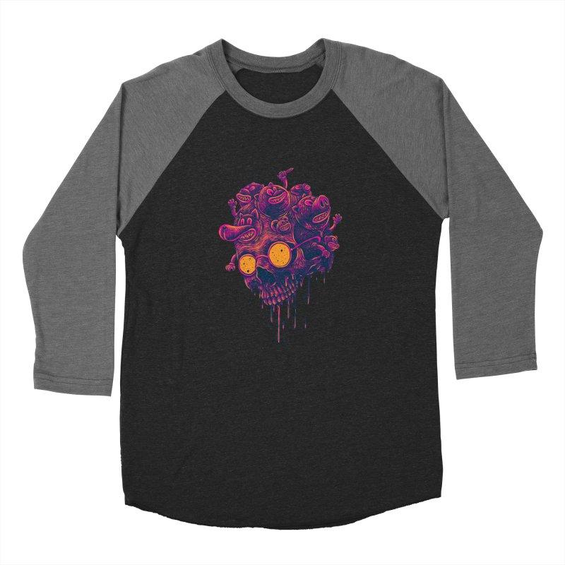 The freakout Women's Baseball Triblend Longsleeve T-Shirt by David Maclennan