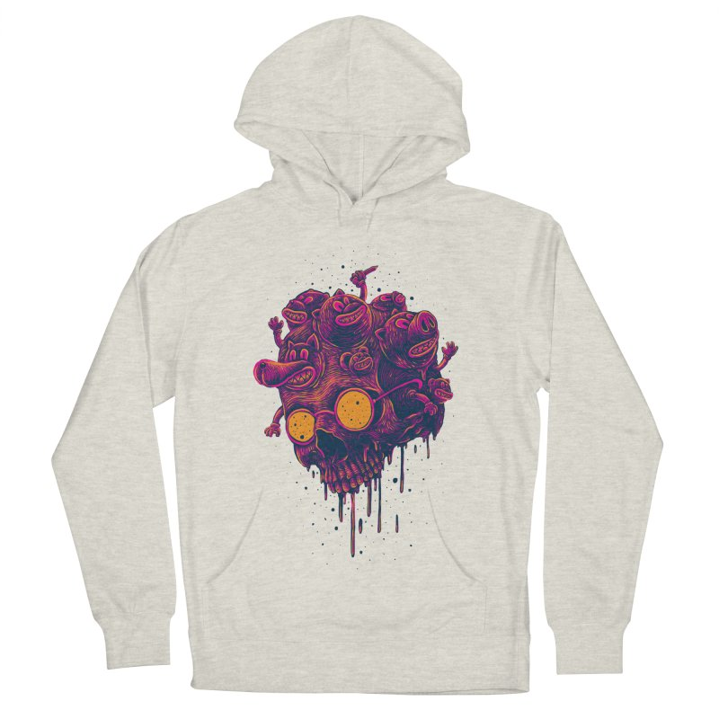 The freakout Women's French Terry Pullover Hoody by David Maclennan