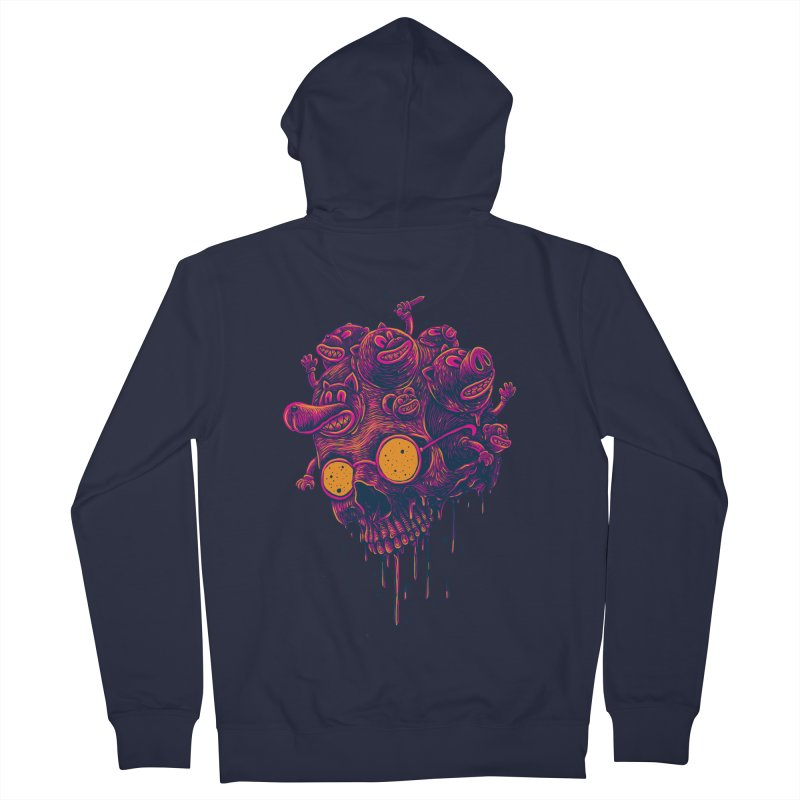 The freakout Women's French Terry Zip-Up Hoody by David Maclennan