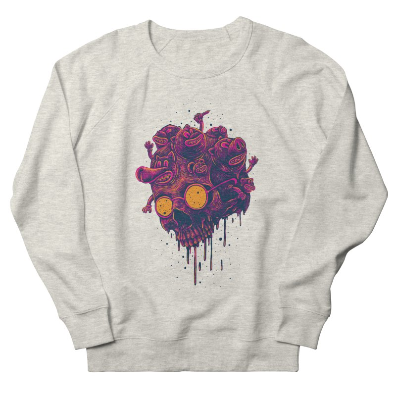 The freakout Men's French Terry Sweatshirt by David Maclennan