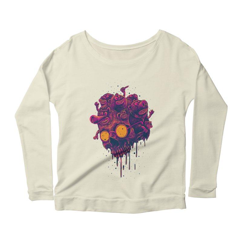 The freakout Women's Scoop Neck Longsleeve T-Shirt by David Maclennan