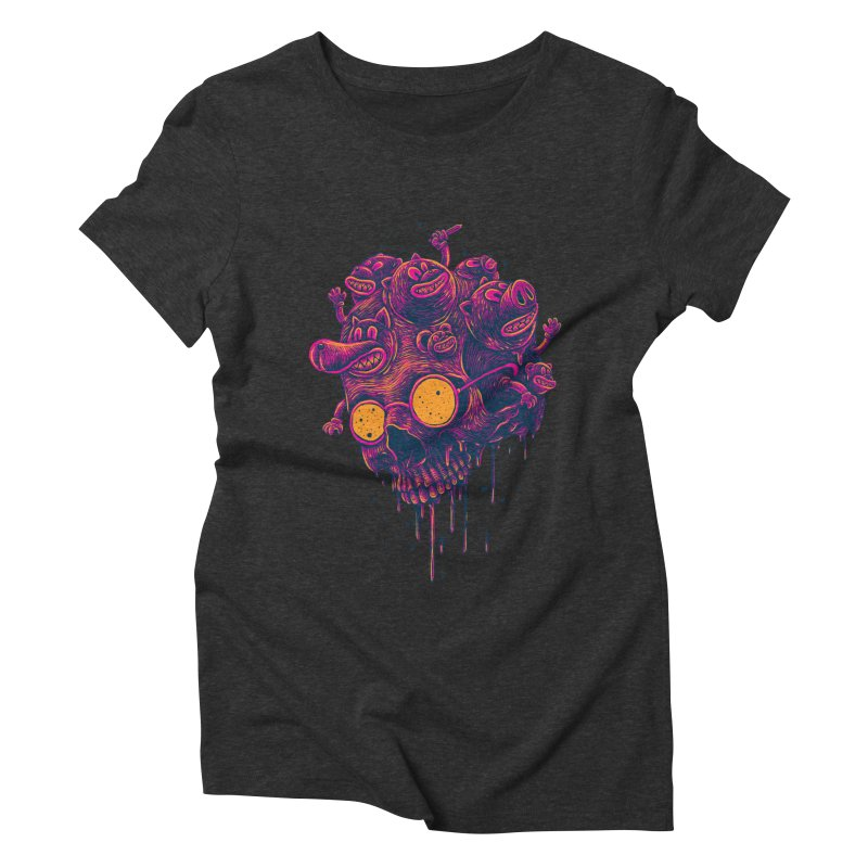The freakout Women's Triblend T-Shirt by David Maclennan