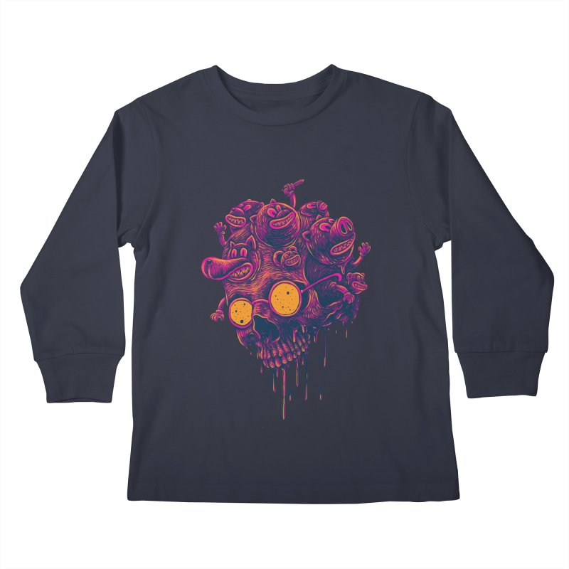 The freakout Kids Longsleeve T-Shirt by David Maclennan