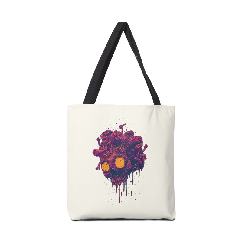The freakout Accessories Tote Bag Bag by David Maclennan