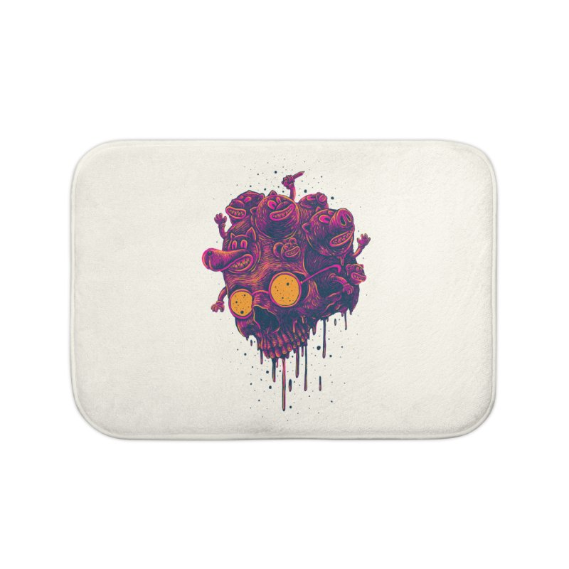 The freakout Home Bath Mat by David Maclennan
